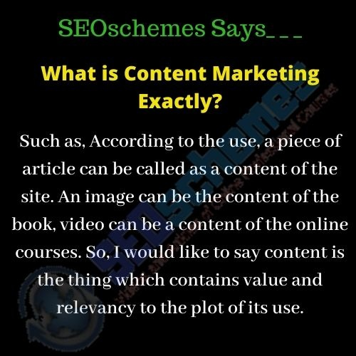 What is Content Marketing Exactly